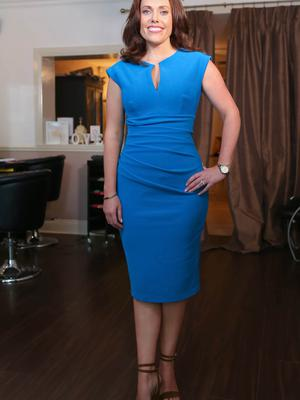 Tighten up: Holywood business woman Nicola McIlhagger one of the founders of Cinch Corsets