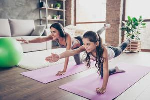 Feelgood factor: exercising with your child can give their mental health a boost