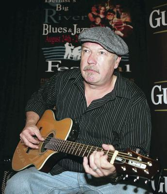 Another string: Rab McCullough learned to play guitar to help him cope with the death of his dad