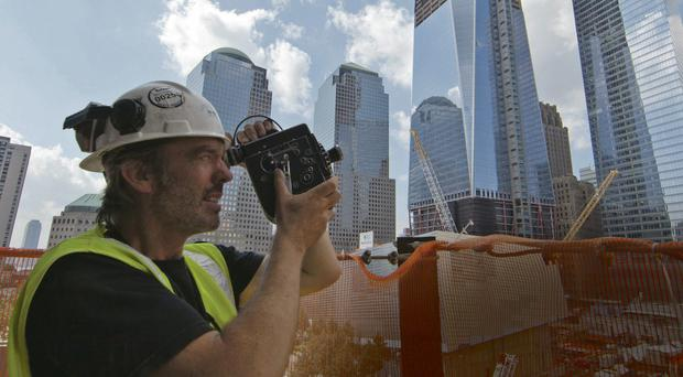 Historic images: Marcus Robinson records the construction work on the site of the Twin Towers