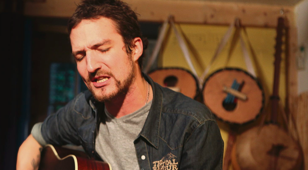 Strumming success: Frank Turner is back in Londonderry at the end of the month to support his friends and Derry natives, Fighting With Wire, who play their last show