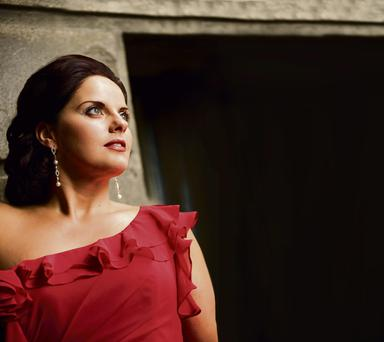 Centre stage: opera singer Celine Byrne will sing alongside Jose Carreras in Belfast
