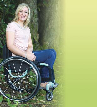 Positive attitude: Jean Daly has overcome her disability