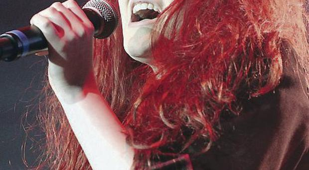 Gortin girl: Former X Factor contestant, Janet Devlin plays at Belfast's Oh Yeah Centre tomorrow