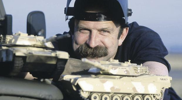 Military manoeuvres: after a successful Army career, Dick Stawbridge found a new TV role in the kitchen