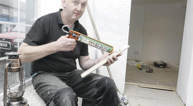 New aims: Brian Smith gains hands-on work experience at Eden Village Jonathan Porter/Presseye