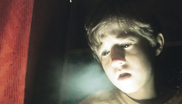 David Fredriks sees spirits like Haley Joel Osment's character in The Sixth Sense
