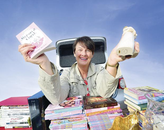 Heather Orr goes to car boot sales around once a month