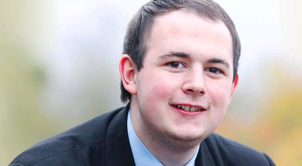 John Baxter, who is studying for his A-Levels at Christian Brothers School in Omagh
