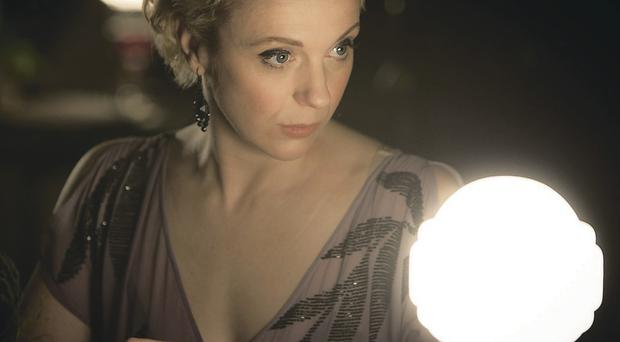 Watching the detective: Amanda Abbington in TV's Sherlock