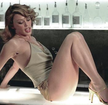 Changing image: Kylie Minogue has been a firm favourite with audiences