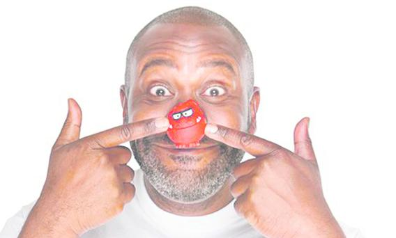 Lenny Henry raising money on Red Nose Day