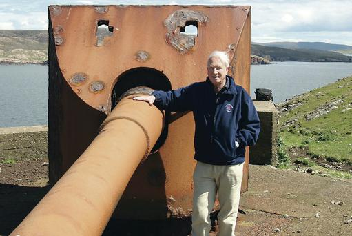 Bill Clements has spent his retirement studying fortresses all around Ireland
