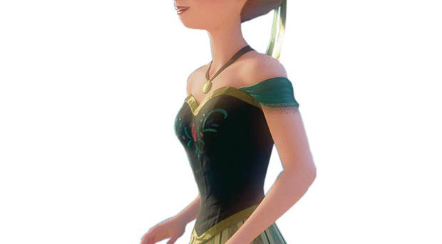 Role model: Anna from Frozen