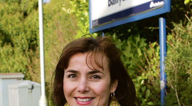Elena Aceves-Cully at Larne before her 90-minute commute to work