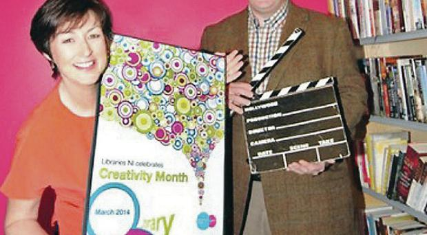 Getting it write: Top, with Donna Traynor to launch Creativity Month