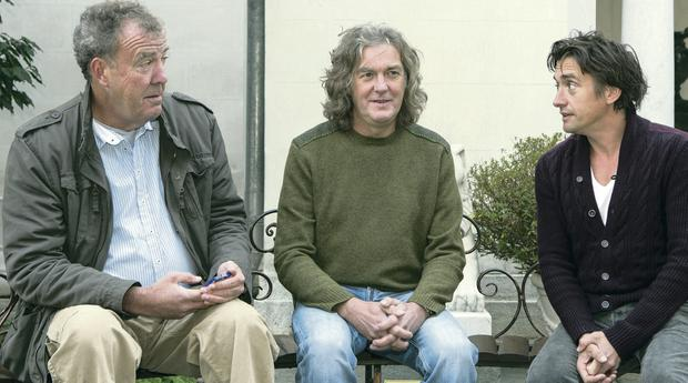 Jeremy Clarkson, James May and Richard Hammond from Top Gear