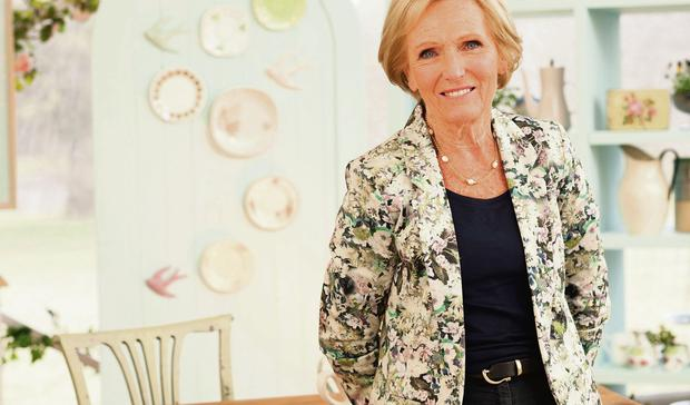 Taste of success: British Bake Off judge Mary Berry sharing some of her top cooking tips