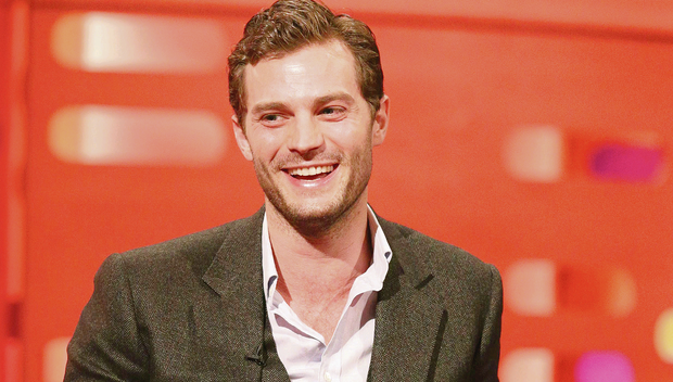 Leading man: Jamie Dornan on The Graham Norton Show