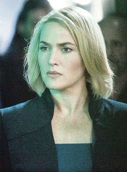 New role: Kate Winslet as Jeanine in new film Divergent