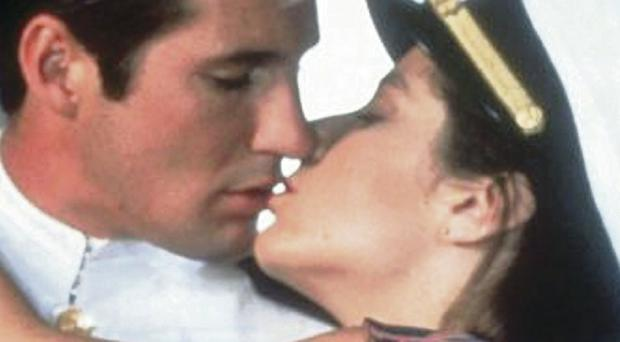 Right move: Richard Gere and Debra Winger in An Officer And A Gentleman