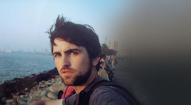 Keen traveller: one of the last photos of Christopher Gallagher, who died in Thailand after contracting malaria