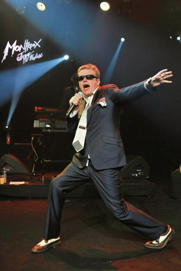 House of fun: Suggs, with Madness is currently on a solo tour of the UK
