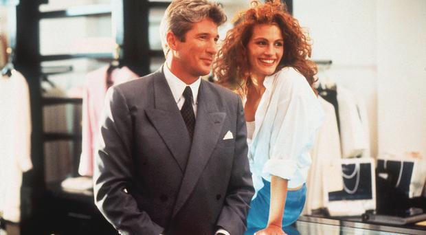 Romantic version: Richard Gere and Julia Roberts in Pretty Woman
