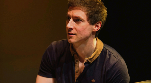 Funny turn: Declan Rodgers performs in a new play this weekend