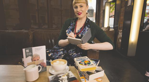 Coffee culture: Jan Carson says she finds it easiest to write in busy places, like cafes and airports