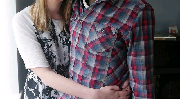 So grateful: Rachael and Fintan have been deeply touched by the support from family and public