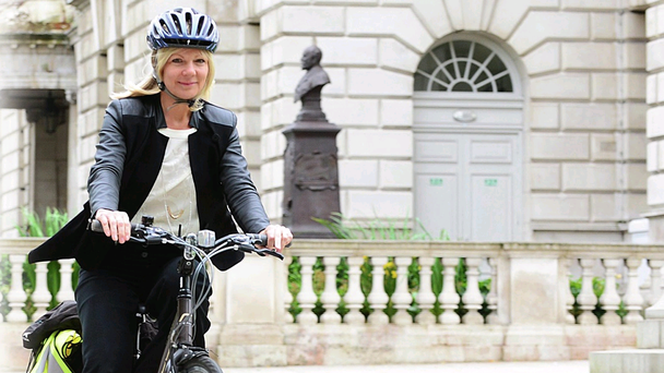 Addictive hobby: Suzanne Wylie, chief executive of Belfast City Council Arthur Allison