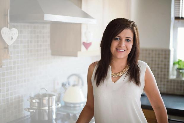 Horrific experience: Claire McKee practises good hygiene when preparing food at home