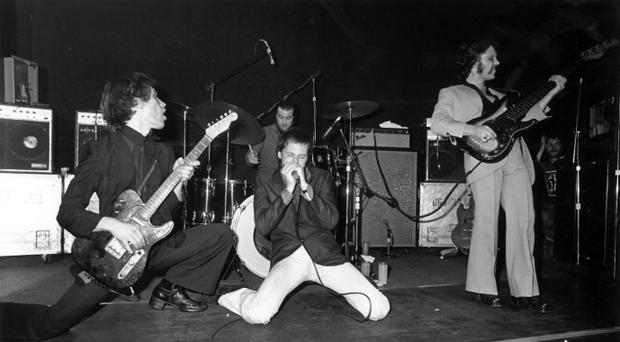 The band in the Seventies with Wilko Johnson and Lee Brilleaux