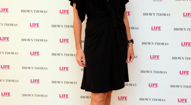 Yvonne Keating at the 10th anniversary celebrations of Life Magazine at Brown Thomas in Dublin