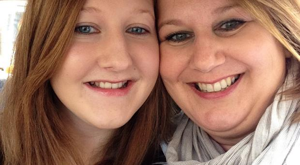 Close ties: Eryn McAvoy and mother Michelle