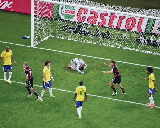 Well-oiled machine: the destruction of Brazil by the German team left their fans shellshocked