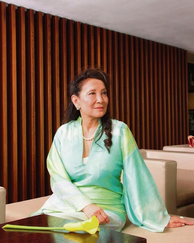 Strong voice: Jung Chang's book Wild Swans has been banned in her native China