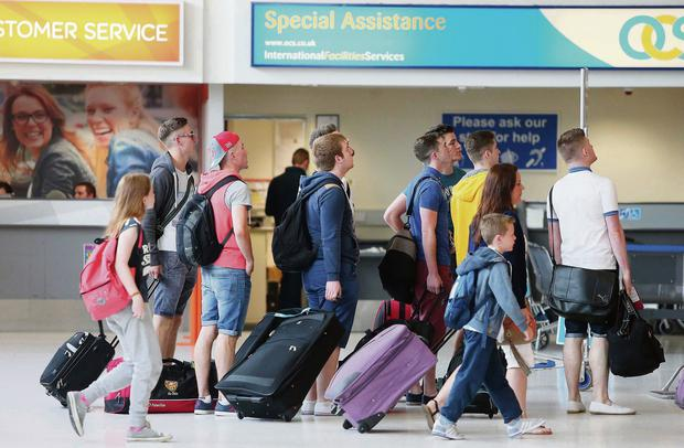 4,500 staff, from baggage handlers to air traffic controllers, keep 11,000 passengers flowing safely through Belfast International Airport