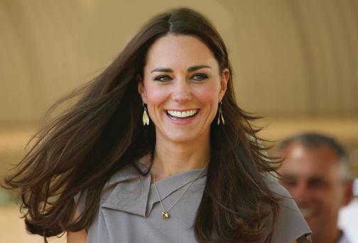 Hair apparent: the Duchess of Cambridge, a regular at Richard Ward's London salon, has one of the world's most copied styles
