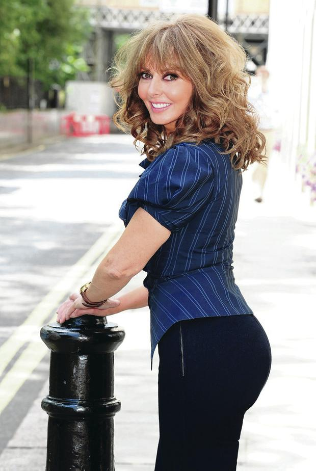 Do the maths: career and home commitments put Carol Vorderman under pressure