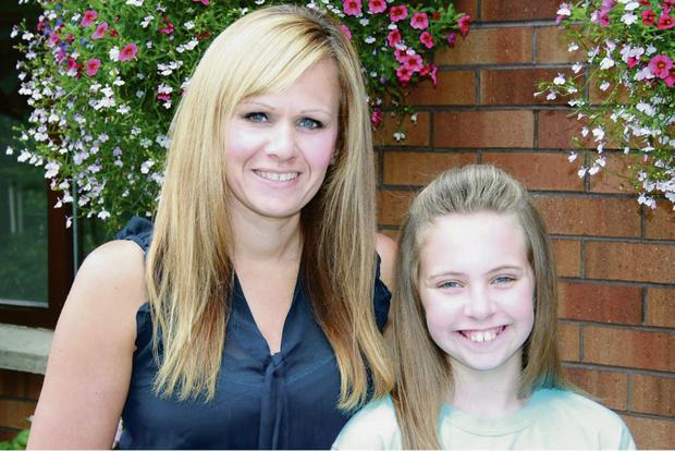 New confidence: Abbie and mum Danielle