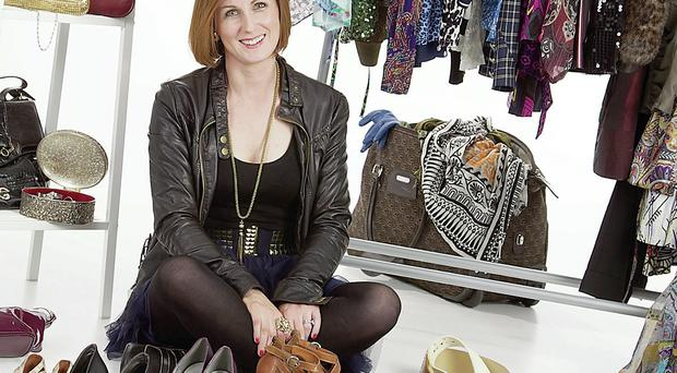 Off the rails: Breda Stack says getting rid of belongings makes for a happier home