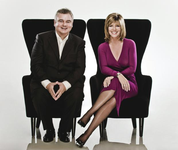 Happy couple: Eamonn Holmes and Ruth Langsford