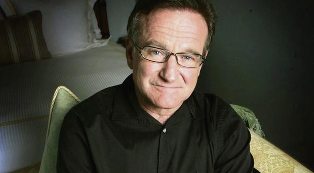 Tragic end: comic Robin Williams (63) had battled severe depression
