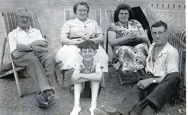 Gerry Anderson on a childhood family holiday