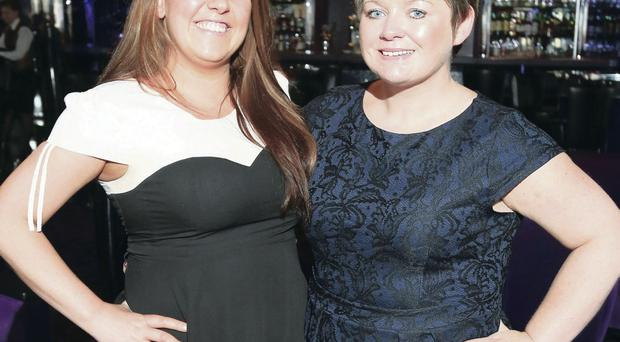 Bronagh McNamara and Astrid Johnston, cruise manager for American Holidays on board the MSC Magnificent