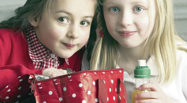 Perfect balance: both girls and boys are now enjoying healthier and tastier food in their lunchboxes