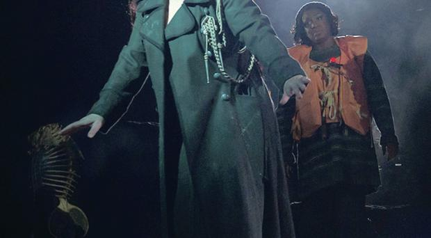 Kate Bush made a return to the stage after a 35-year absence
