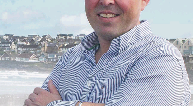 Life's a beach: Keith Walls, proprietor of Causeway Coast Rentals